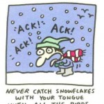 Holiday tips for the snow